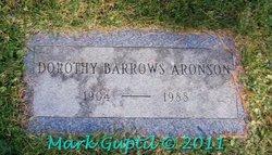 Dorothy <i>Barrows</i> Aronson