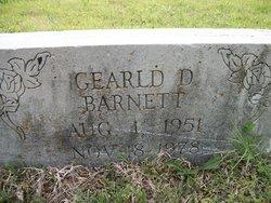 Gearld D. Barnett