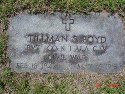 Pvt Tillman S Boyd