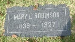 Mary E. Robinson