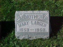 Mary <i>Oberst</i> Langer