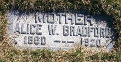 Alice Ellen <i>Winder</i> Bradford