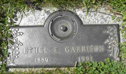 Ethel E. <i>Johnson</i> Garrison