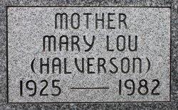 Mary Lou <i>Halverson</i> Alseth