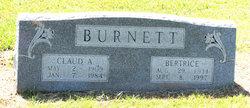Emma Bertrice <i>Davis</i> Burnett
