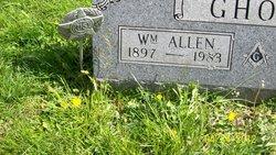 Dr William Allen Ghost