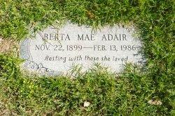 Berta Mae <i>Parker</i> Adair