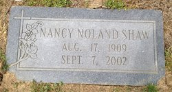 Nancy Caroline <i>Noland</i> Shaw