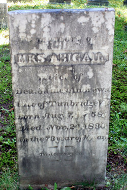 Mrs Abigail <i>Foster</i> Andrews