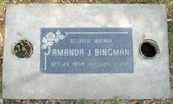 Amanda J Bingman