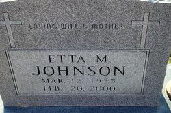 Etta Mae <i>Woolfolk</i> Johnson