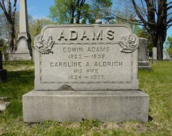 Caroline A. <i>Aldrich</i> Adams