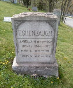 Isabella M <i>Waddle</i> Eshenbaugh