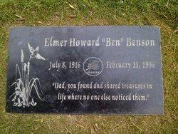 Elmer H. Ben Benson