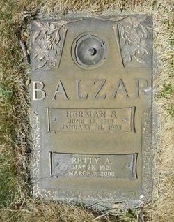 Betty Anne <i>Kaiser</i> Balzar