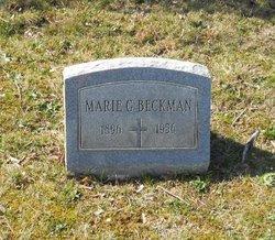 Marie G Beckman
