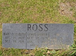 Mary Elizabeth Ross