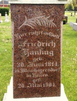 Friedrich Cristoph Fred Hansing