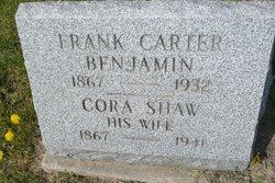 Cora <i>Shaw</i> Benjamin