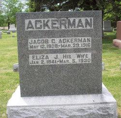 Eliza Jane <i>Salter</i> Ackerman