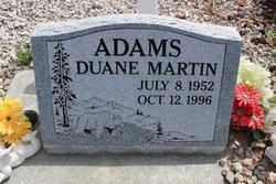 Duane M Adams