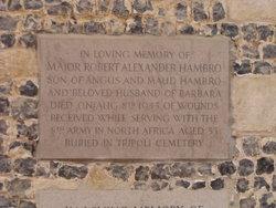 Major Robert Alexander Hambro