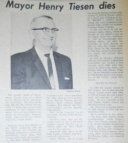 Henry Tiesen