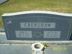 Betty Jo <i>Jett</i> Crenshaw