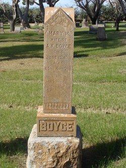 Mary Malvina <i>Cain</i> Boyce