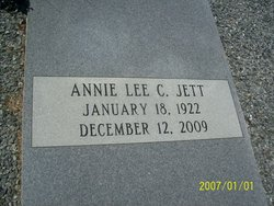Annie Lee <i>Crenshaw</i> Jett
