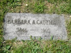 Barbara A <i>Gottshall</i> Caufman