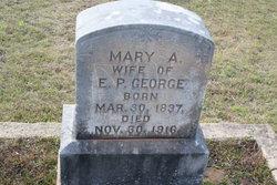 Mary Ann <i>Watters</i> George