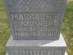 Margaret Maggie <i>Burbach</i> Schnell