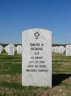 Sgt David Allen Doane