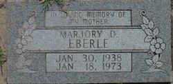 Marjorie Dean <i>Pierson</i> Eberle