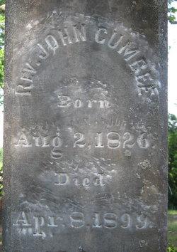 Rev John William Cumbee