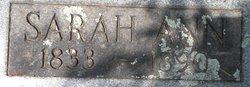 Sarah Ann Elizabeth <i>Mathis</i> Allen