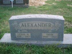 Leslie Herbert Alexander