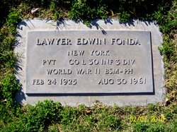 Lawyer Edwin Fonda
