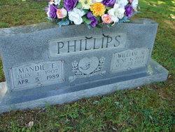 Mandie Elizabeth <i>Crabtree</i> Phillips