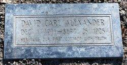 David Carl Alexander