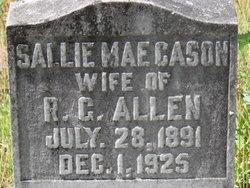 Sallie Mae <i>Cason</i> Allen