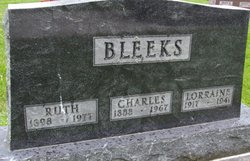 Ruth Inez <i>Myers</i> Bleeks