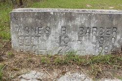Agnes B Barber