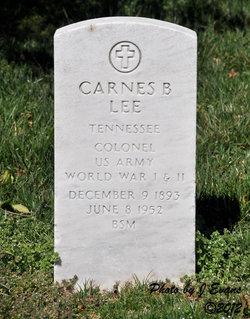 Col Carnes B Lee