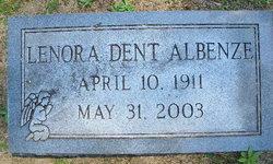 Lenora <i>Dent</i> Albenze