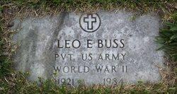 Leo E Buss