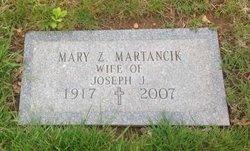 Mary <i>Zakrzewski</i> Martancik