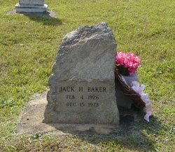 Jack Hubert Baker
