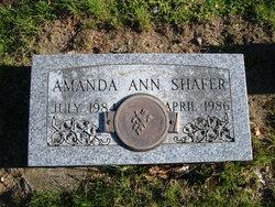 Amanda Ann Shafer